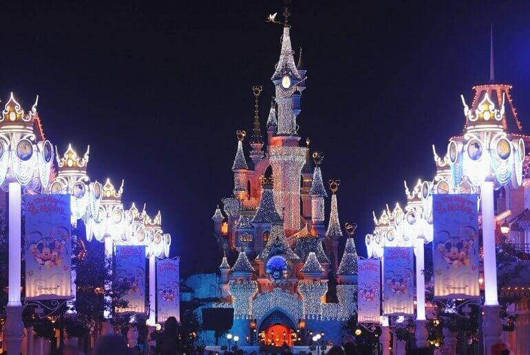 Диснейленд Франция Новый Год