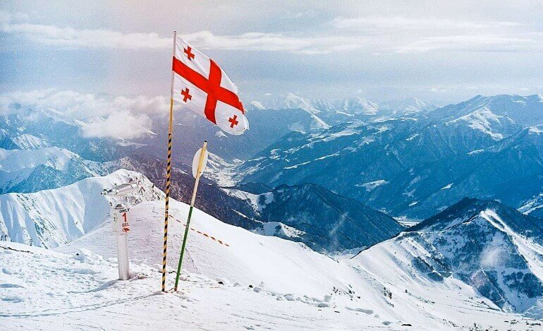 грузия курорт горнолыжный