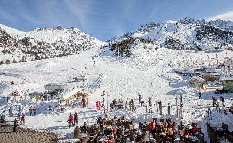 Казахстан горнолыжный курорт