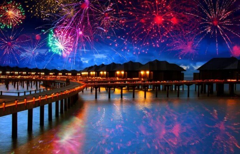 Мальдивы Новый Год