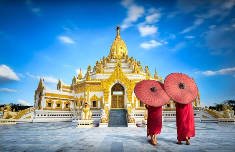 Мьянма отдых на море
