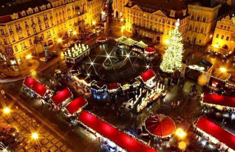 Прага Чехия Новый Год