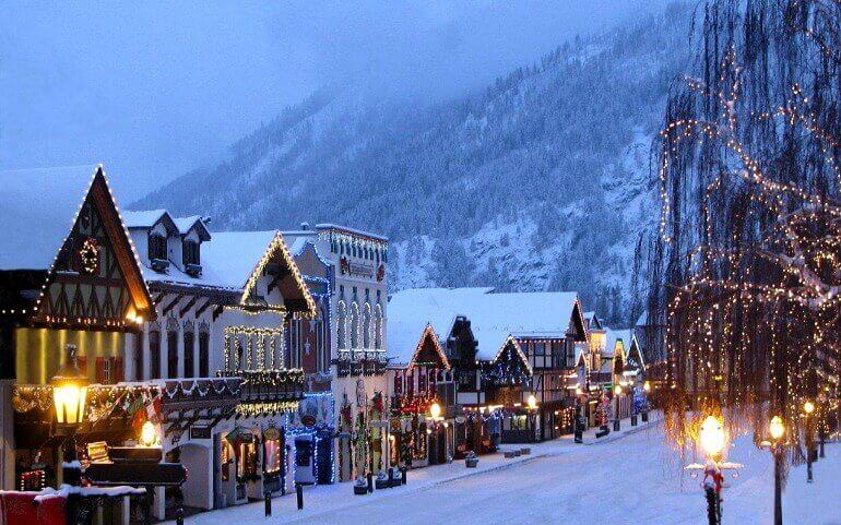Швейцария новый год в горах