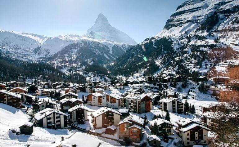 Швейцария курорты