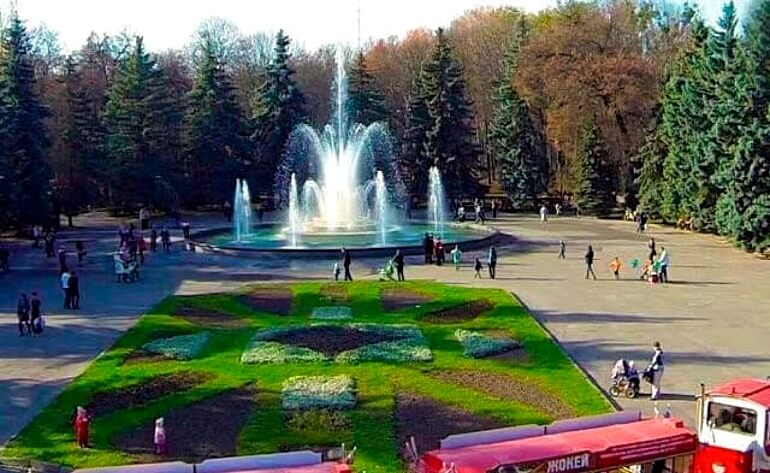 Парк Горького (Центральный парк) Винница