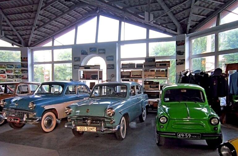 Музей ретро-техники «Автомотовелофоторадио»