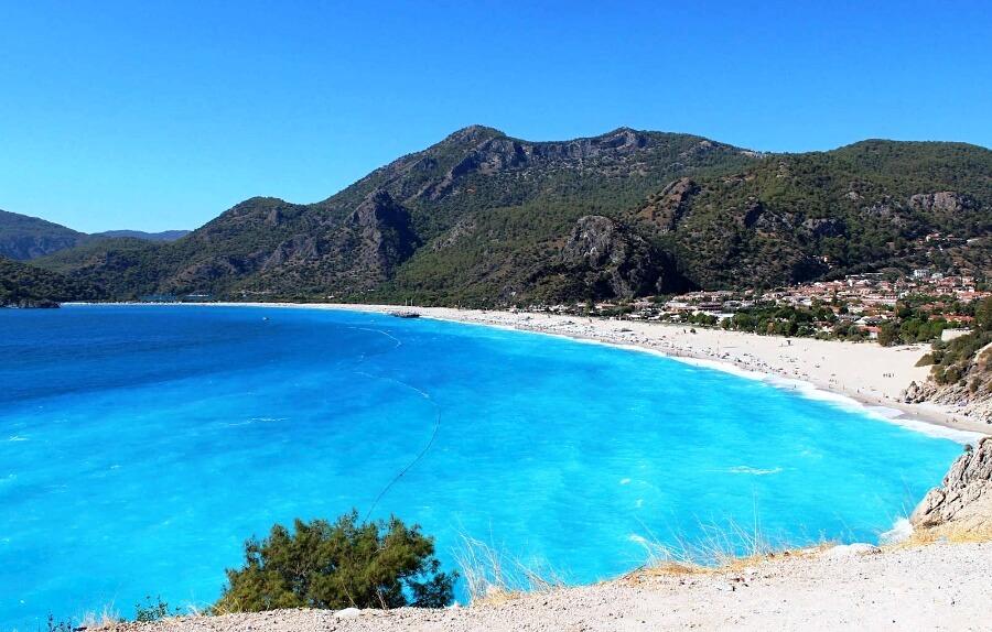 Пляж Блакитна лагуна, Олюденіз