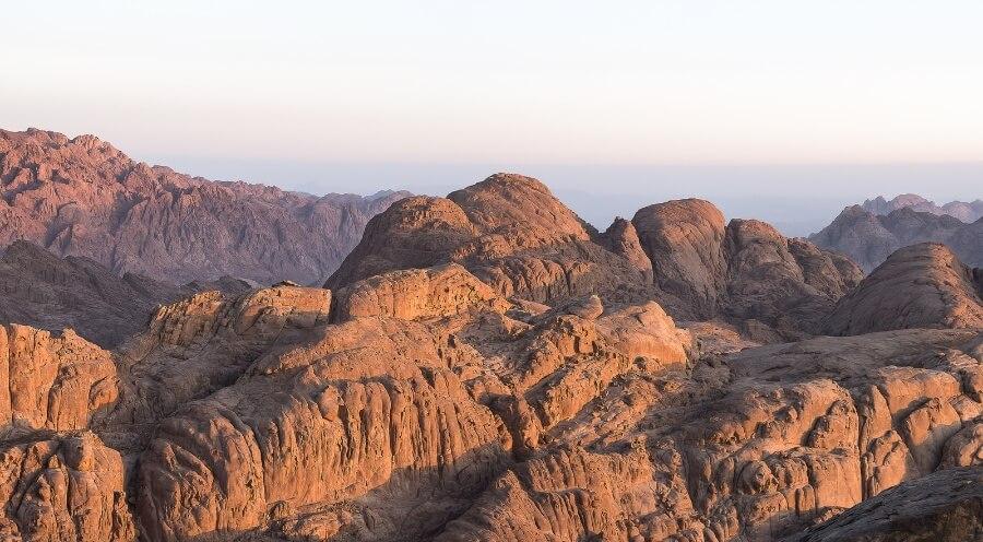 Гора Моисея синай