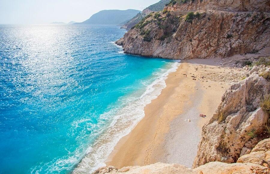 Пляж Капуташ, Калкан