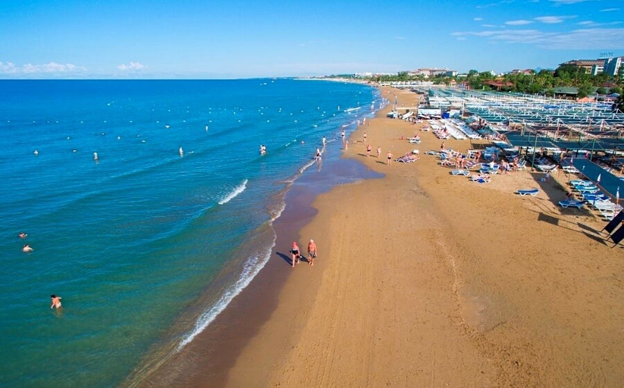 Пляж Кумка, Сіде