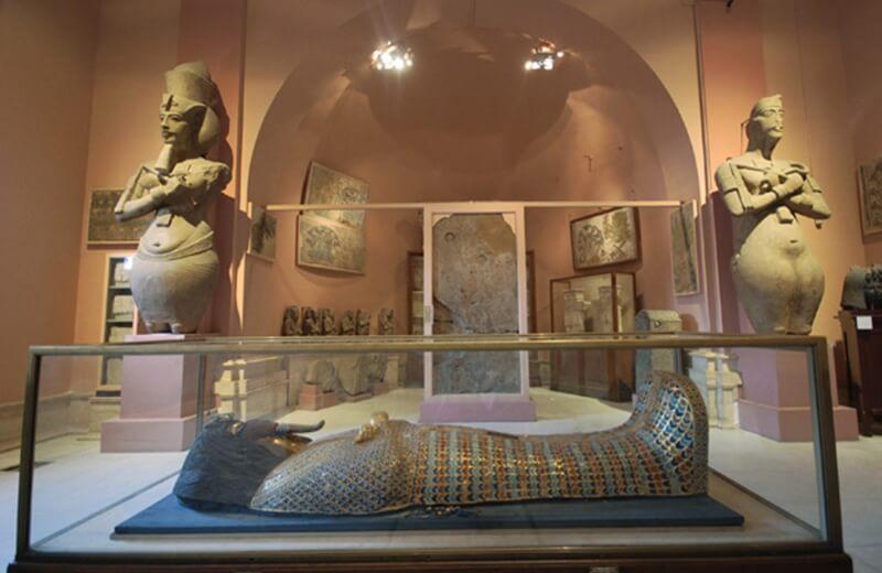 Музей старожитностей, Луксор