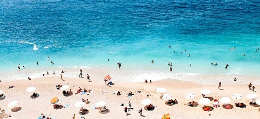 пляжі Туреччини