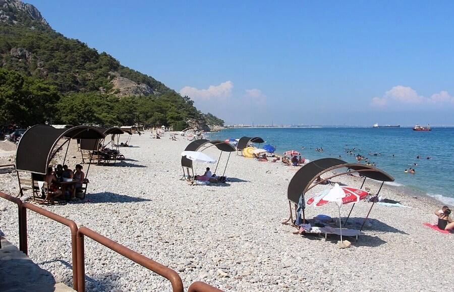 Пляж Топчій, Анталія