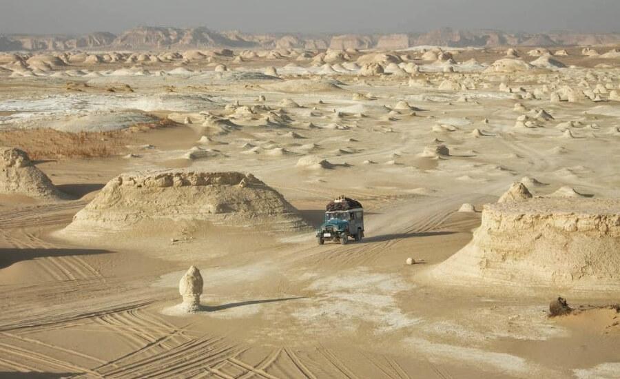 Оазис Фарафра, Белая пустыня