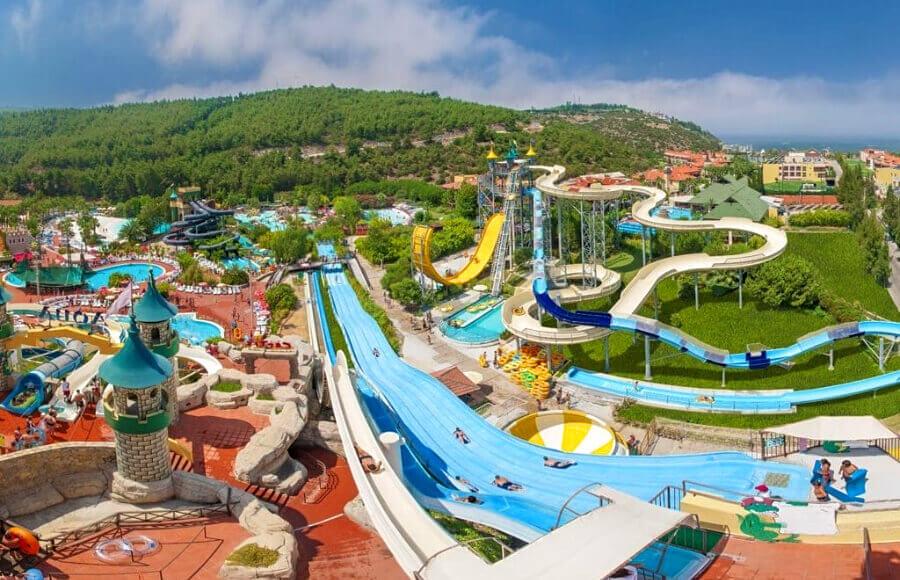 Water Planet Deluxe Hotel & Aquapark, Аланья