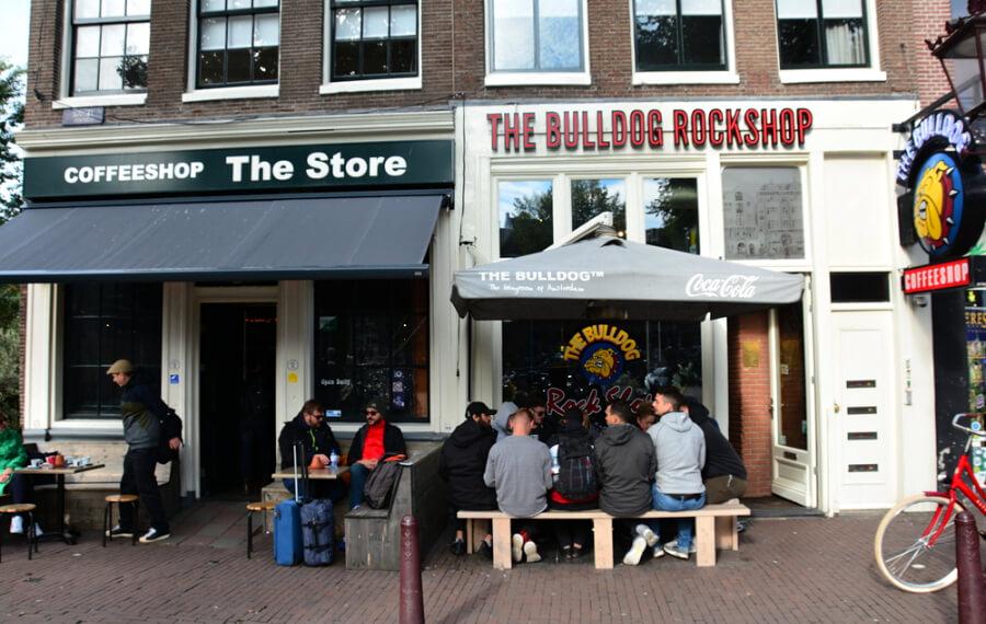 Кофешопы Амстердама