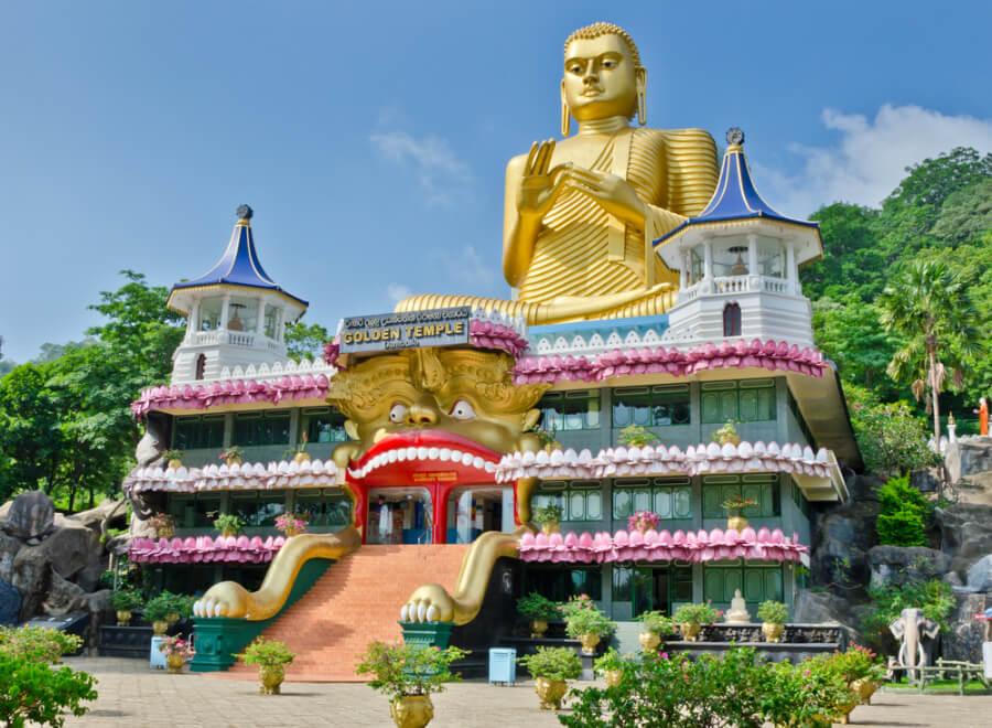 Золотий храм Дамбулла