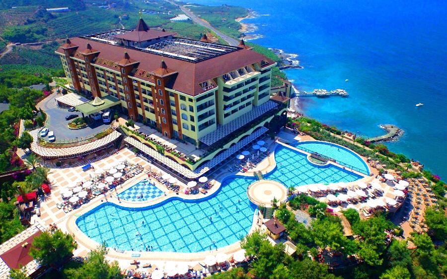 Utopia World Hotel, Алания