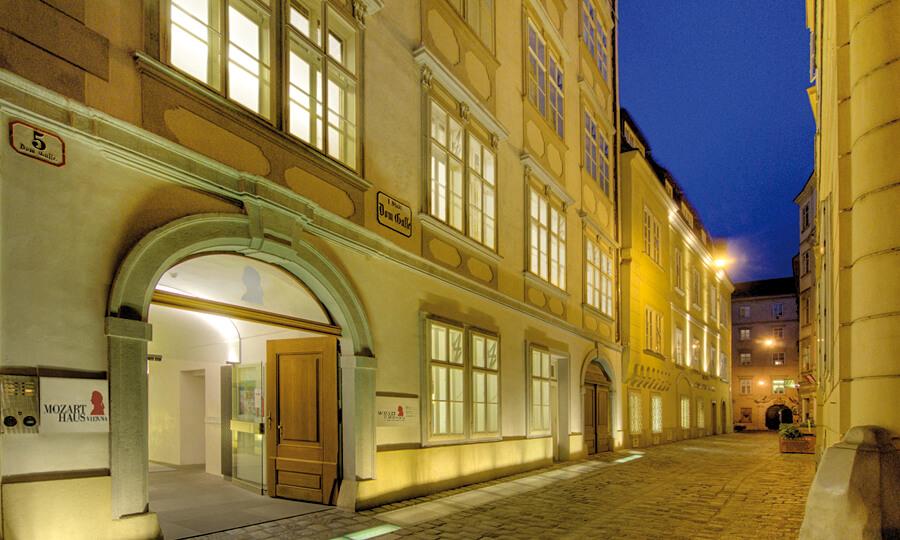Дом Моцарта Вена