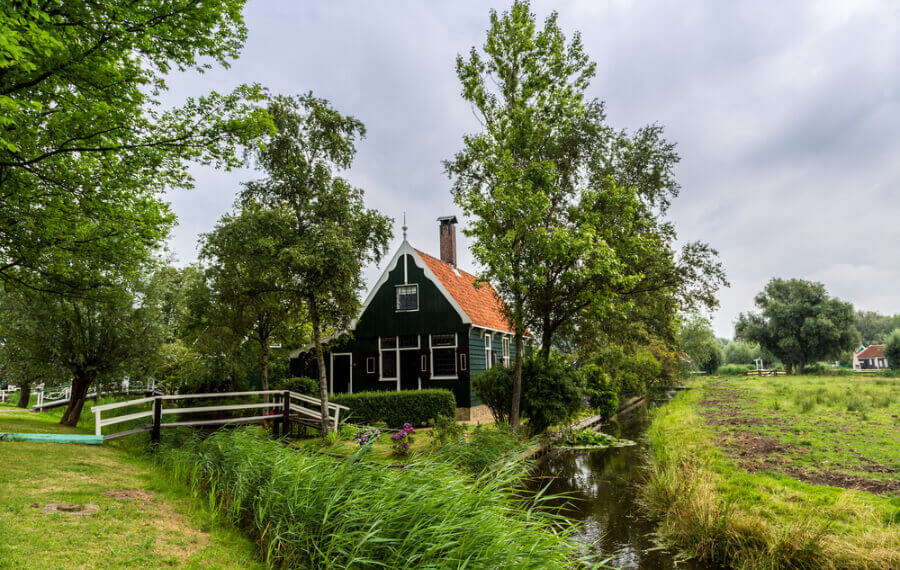 Деревня-музей Заансе-Сханс