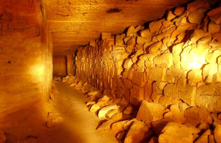 Подземные катакомбы Одесса
