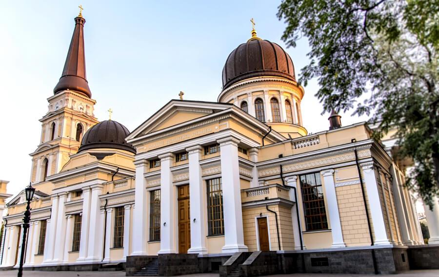 Спасо-Преображенский кафедральный собор Одесса